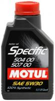 Фото Motul Specific VW 504.00-507.00 5W-30 1л