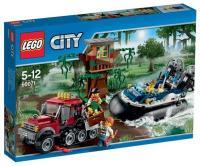 Фото LEGO City 60071 Полицейский корабль на воздушной подушке