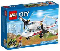 Фото LEGO City Great Vehicles 60116 Самолет скорой помощи