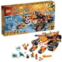 Фото LEGO Legends of Chima 70224 Передвижной командный пункт Тигров