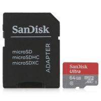 Фото SanDisk 64 GB Ultra microSDXC SDSQUNC-064G-GN6IA