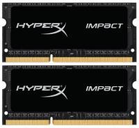 Kingston 16GB (2x8GB) SO-DIMM DDR3L 1600MHz HyperX IMPACT (HX316LS9IBK2/16)