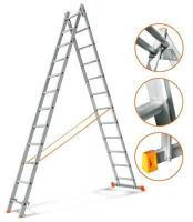 Эйфель Двухсекционная лестница Гранит 2х12