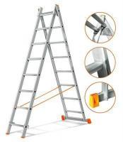 Эйфель Двухсекционная лестница Гранит 2х8