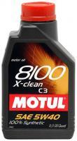 Motul 8100 X-Clean 5W-40 1л