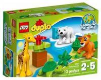 LEGO Duplo 10801 Вокруг света: малыши животных