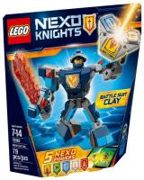 Фото LEGO Nexo Knights 70362 Боевые доспехи Клэя