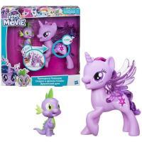 Hasbro My Little Pony Поющая Твайлайт Спаркл и Спайк (C0718)