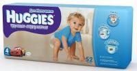 Huggies Трусики для мальчиков 4 (52 шт.)
