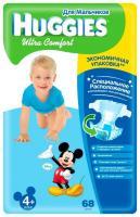 Huggies Ultra Comfort для мальчиков 4+ (68 шт.)