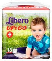 Libero Up&Go 4 7-11 кг (18 шт.)
