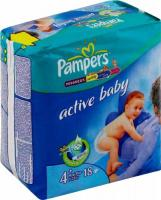 Pampers Active Baby Maxi Plus 4+ (18 шт.)