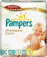 Pampers Premium Care Midi 3 (80 шт.)