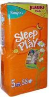 Pampers Sleep&Play Junior 5 (58 шт.)