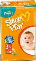 Pampers Sleep&Play Midi 3 (16 шт.)