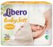 Цены на Libero Подгузники Libero newborn 0 до 2,  5кг 24шт Подгузники Libero Newborn для недоношенных детей (меньше 2,  5 кг),   24 шт имеют специальный мягкий внутренний слой,   который не мешает движениям малыша. Эластичный поясок и тянущиеся боковинки исключают протек