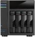 """���� �� AS - 304T ������� ��������� ASUSTOR ������� ����������,   1 ���������� LAN - ����,   4 ����� ��� HDD,   ���� - ������ 2.5""""/ 3.5"""",   Intel Atom 1600 ���,   2 ����,   1 ��"""