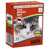 Bozita Feline кусочки в соусе с говядиной 370 г