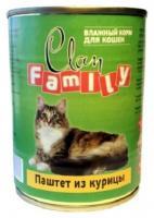 Clan Family паштет из курицы 340 г