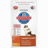 Hill's Science Plan Feline Adult Hairball Control курица 1,5 кг