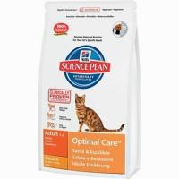 Hill's Science Plan Feline Adult Optimal Care with Chicken 2 кг