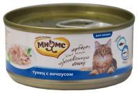 МНЯМС Консервы для кошек Тунец с анчоусами в нежном желе 0,07 кг