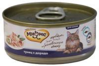 МНЯМС Консервы для кошек Тунец с дорадо в нежном желе 0,07 кг