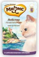 МНЯМС Влажный корм для кошек Лобстер по-каталонски (средиземноморский лобстер) 0,085 кг