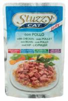 Stuzzy Cat консервы для кошек с курицей в желе 100 гр