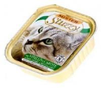 Stuzzy Cat консервы для кошек с телятиной и морковью 100 гр