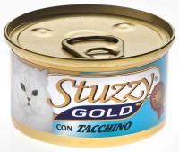 Stuzzy Gold консервы для кошек мусс из индейки 85 гр