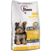 1st CHOICE Puppies Toy & Small Breeds 7 кг