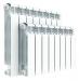 Цены на Алюминиевый секционный радиатор Rifar Alum 350 12 секций Тип: Алюминиевый радиатор.Особенности: Главное отличие от известных алюминиевых радиаторов заключается в конструкции вертикального канала секции. Технологическое отверстие в нижней части каждой секц