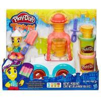 Hasbro Play-Doh Город: грузовик мороженого (B3417)